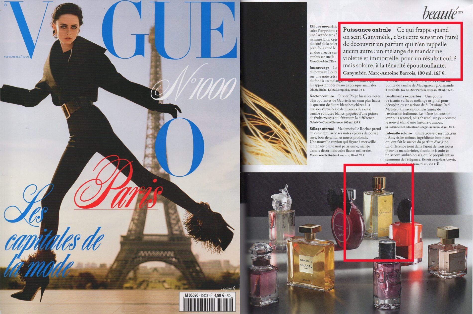 VOGUE FRANCE - 09-19